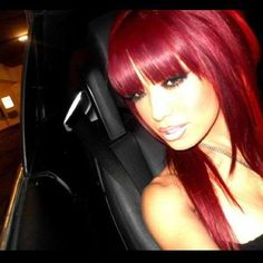 Hair - i love this. when i see red hair i want hair red. when i have red hair i see brown, and i want brown hair! Love Hair, Great Hair, Big Hair, Gorgeous Hair, Awesome Hair, Hair Colorful, Corte Y Color, Natural Hair Styles, Long Hair Styles