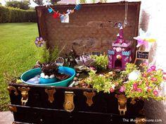 DIY Fairy Garden.  T