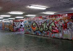 On Subway walls ....