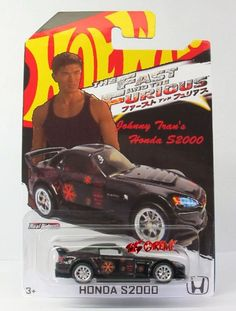 Hot Wheels 2014 CUSTOM The Fast And The Furious Johnny Tran's Honda S2000 BLACK #HotWheels