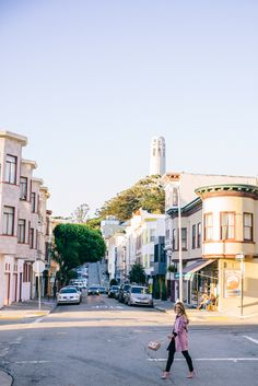 Best Spot to see Coit Tower From in North Beach - San Francisco