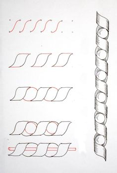 T. Matthews Fine Art: First Friday Art Class for November 2012 - Zentangle, Part 2