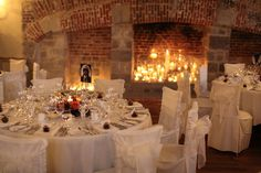 elegant wedding breakfast picture