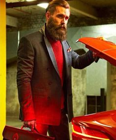 Beards. Men. Ricki Hall.