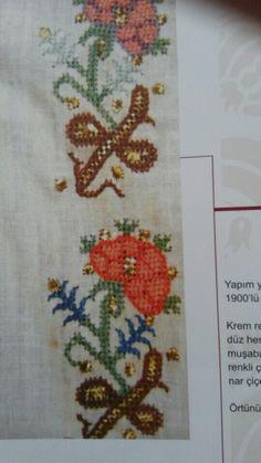 İstanbul Refia Övüc Olgunlaşma Enstitüsü Turkish Fashion, Turkish Style, Textiles, Bargello, Handicraft, Poppies, Cross Stitch, Carpet, Traditional
