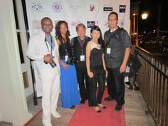 Photographers for the Allison Mora Couture Spring/Summer 2014 Event (from l-r) Mark G Photography, Trinette Denise, David Alvarez, Quinn Ung & Mario Vera