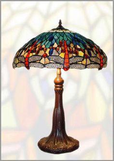 tiffany lamps, lámparas tiffany