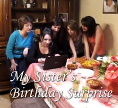 My Sister's Birthday Surprise Video - What an awesome brother!  http://sonnyradio.com/viral-videos-my-sisters-birthday-video/