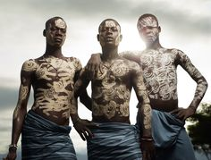 Karo Tribe, Lower Omo Valley, Ethiopia  (Ongoing series 2008 - 2013) photo by Joey L.