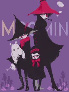 The Joxter, Snufkin and The Mymble's Daughter.