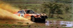 Rally Safari 1974 . Datsun 240Z