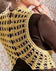 Stylish Easy Crochet: Crochet Bolero - Innovative Crochet Design