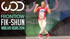 Fik-Shun | FRONTROW | World of Dance Las Vegas 2014  #WODVEGAS