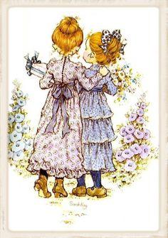 Friends sarah kay sarah kay t sarah kay holly hobbie Sarah Key, Holly Hobbie, Mary May, Sweet Pic, Zentangle, Australian Artists, Illustrations, Cute Illustration, Vintage Cards