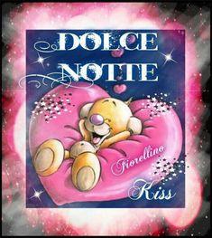 Buonanotte immagini Good Morning Good Night, Congratulations, Smiley, Video, Dreams, Disney, Nighty Night, Smile, Babydoll Sheep