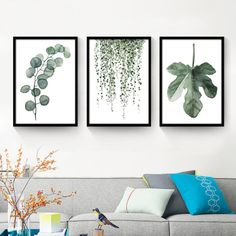 All we need, really, is a change from a near frigid to a tropical attitude of mind. Thus, get yourself this Nordic Watercolor Painting Tropical Plant Canvas Art now.