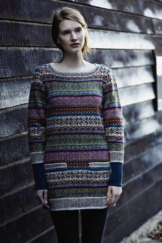 NEW Windswept Collection, an independent collection by Marie Wallin using Rowan yarns: Sage in Rowan Felted Tweed DK Fair Isle Knitting Patterns, Fair Isle Pattern, Knitting Charts, Knitting Designs, Knitting Yarn, Knit Patterns, Rowan Knitting, Tejido Fair Isle, Punto Fair Isle