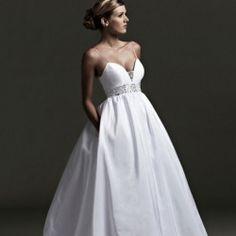 A wedding dress with pockets.