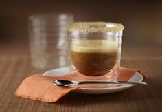 apricot iced coffee... oh yum!