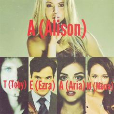 Pretty Little Liars- A TEAM...no it can't it just can't be!