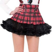 This Geek Chic Tutu will show off your nerd fashion sense! High waisted and a little flirty, Geek Chic Tutu for women features voluminous layers of tulle under a Geek Chic plaid overlay. Tutu Women, Tutu Party, Nerd Fashion, Party Stores, Geek Girls, Couple Halloween Costumes, Geek Chic, Ladies Party, Cheer Skirts
