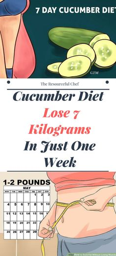 Cucumber Diet – Lose 7 Kilograms In Just One Week! !!!