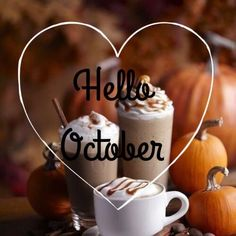 Hello October Images, October Pictures, Hello January, New Month Quotes, October Quotes, October Wallpaper, Fall Wallpaper, Seasons Months, Nature Photography
