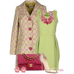"""Lime and Fuchsia Style"" by kginger on Polyvore"