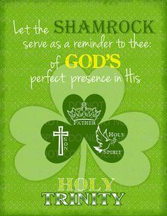 Printable DIY St. Patrick's Day Christian by onelovedesignsllc