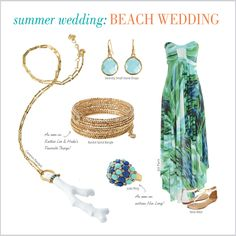 What To Wear: Summer Weddings from Stella & Dot by Una Tinnelly