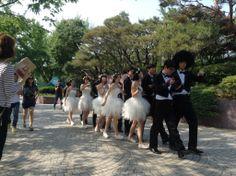 #야놀자 웨딩 퍼포먼스!?!?!?ㅋㅋㅋ 합동결혼식?! 귀엽당! #여의도#