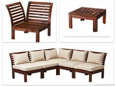 Ikea APPLARO furniture - balcony