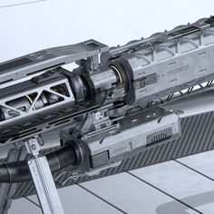 EMP Sniper Rifle, Gavriil Klimov on ArtStation at https://www.artstation.com/artwork/kx4dK