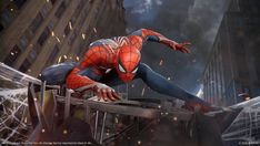 Check out the gameplay demo of Marvel's Spider-Man shown at the 2017 Sony PlayStation Media Showcase. Coming 2018 to For the latest on Marvel's Spider-M. Spider Man Ps4 Game, Spider Man Playstation 4, Spider Man 2018, Playstation Psn, Die Avengers, Xbox, Sean Parker, Edition Collector, Ultimate Spider Man