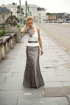 Cheap!! 2014 Backless White And Brown Long Mother Mother of the Bride Dresses   Buy Wholesale On Line Direct from China