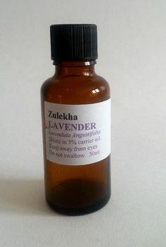 Lavender Essential Oil High Altitude 30ml Zulekha Aromatherapy Care
