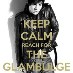 KEEP CALM REACH FOR THE GLAMBULGE love