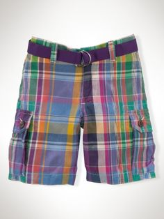 Toddler Ralph Lauren cargo shorts