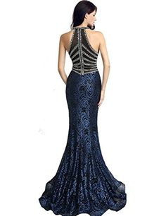 Sarahbridal-Womens-Crystal-Beaded-Prom-Dresses-Long-Formal-Evening-Gowns-LX116