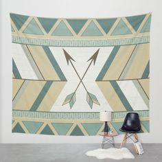 Buy Aztec Pattern Arrows  Wall Tapestry by LouJah. Worldwide shipping available at Society6.com. Just one of millions of high quality products available.