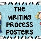 These writing process posters will beautifully decorate as they educate! This series of posters includes all 6 steps to the writing process: prewri...