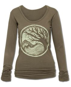 Earth Medallion Organic Long Sleeve from Soul Flower. Made & printed in the USA. Organic cotton. Low-impact dyes. Soul Flower original. http://www.soul-flower.com/hippie/SOL326/Earth+Medallion+Organic+Long+Sleeve.html
