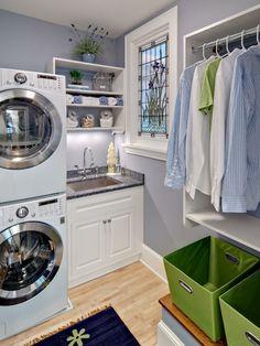 Waschküche Einrichten   Im Großen Und Ganzen Sind Waschküchen Ziemlich  Dunkel. Deswegen Empfehlen Experten Lösungen, Bei Welchen Man Einen Weißen.
