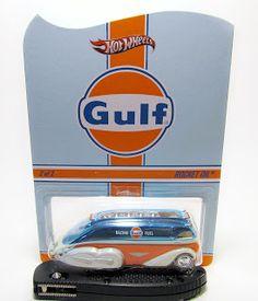 Hot Wheels RLC Gulf Rocket Oil