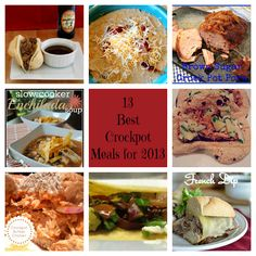 13 Best Crockpot Meals for 2013/ I Love My Disorganized Life