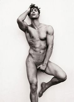 Nude modeling genitals