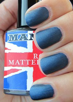 ManGlaze / Royal Matterimoaning.  So Good.  Swatch/Pic courtesy of allimcbally.blogspot