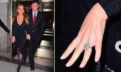 Mariah Carey flashes her $7.5million engagement ri...