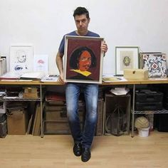 Comparte tus momentos #ruzafagente con nosotros. @estoesarte  Velázquez. Mixta sobre lienzo. 46x38cm. #paint #painting #diseño #artecontemporaneo #arte #gallery #portrait #drawing #galeriadearte #shopping #valencia #pintura #meninas #pintura #contemporaryart #bellasartes #retrato #velazquez #artemoderno #instagram #instavalencia #decoracion #igersvalencia #miguelangelaranda #creatividad #working #ruzafagente #desing #spain #creative