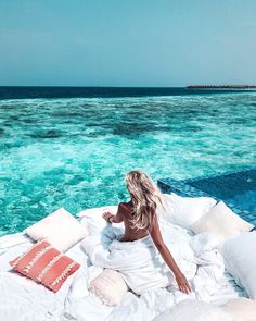 Grand Park Kodhipparu Maldives Hotel With Net Over the Water Best Honeymoon Destinations, Amazing Destinations, Dream Vacations, Vacation Spots, Maldives Resort, Maldives Travel, Maldives Hotels, Resorts, Places To Travel